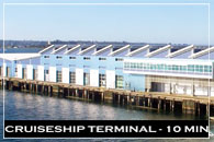 Cruiseship Terminal at San Diego, California