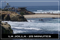 La Jolla at San Diego, California