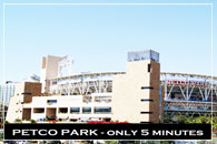 Petco Park at San Diego, California