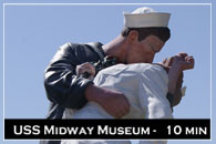 USS Midway Museum at San Diego, California